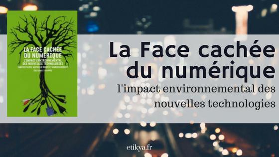 «La face cachée du numérique» de Fabrice Flipo